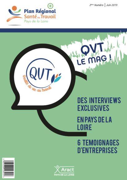 Le 2ème numéro de QVT Le Mag' est en ligne !