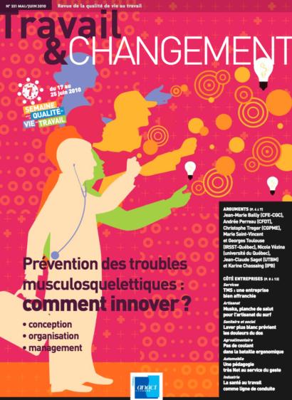 Travail & Changement N° 331 – Prévention des troubles musculosquelettiques : comment innover ?