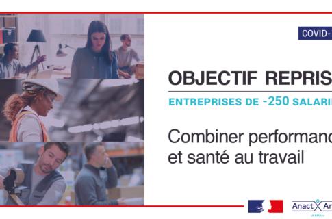 Covid 19 : Objectif reprise TPE-PME – appui à la reprise et la poursuite d'activité
