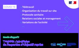 Covid 19 – Objectif reprise : combiner poursuite de l'activité et prévention dans les TPE-PME
