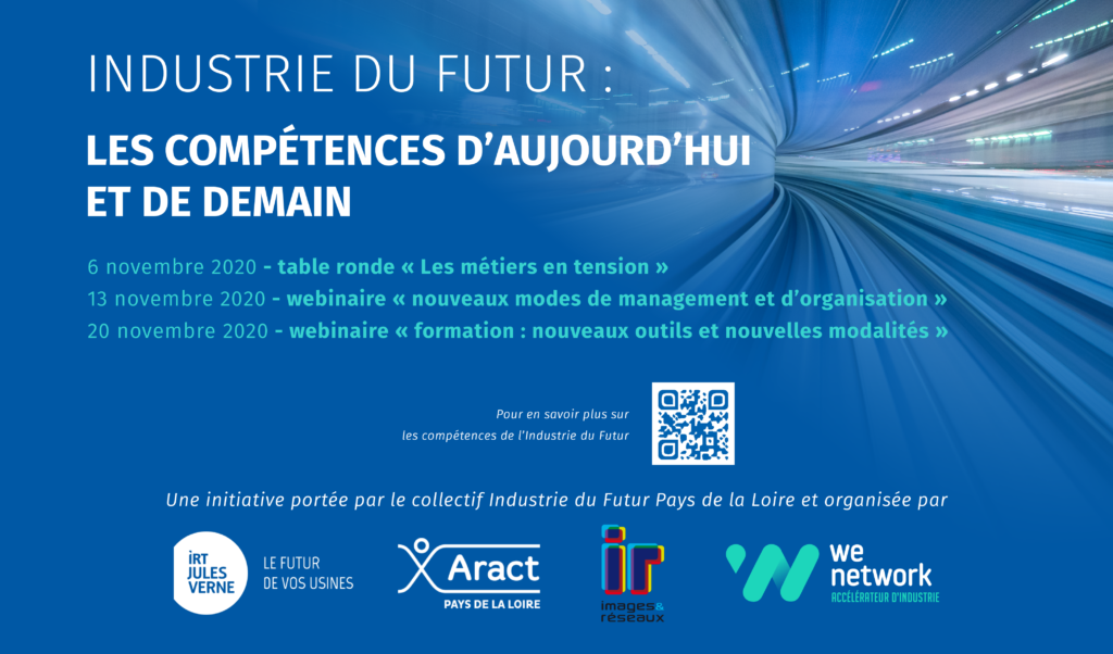 Industrie du Futur – Formation: nouveaux outils et nouvelles modalités