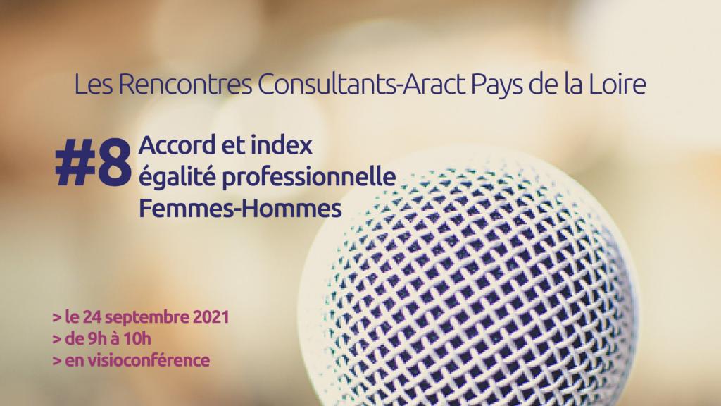 Les Rencontres Consultants-Aract Pays de la Loire #8 – Égalité professionnelle – 24/09